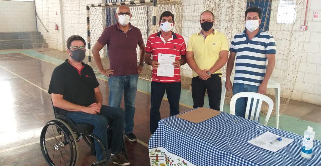 Girasonhos recebe emenda para fazer reforma
